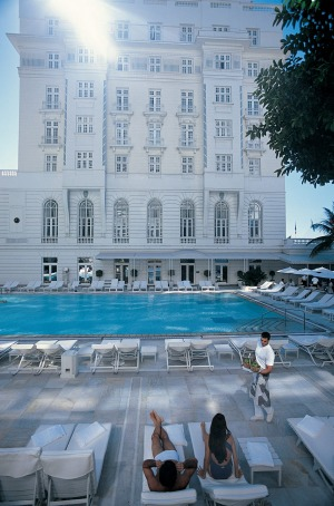 The pool at the Belmond Copacabana Palace.