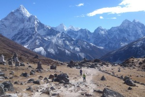Take a walking trip to Everest Base Camp with Intrepid.