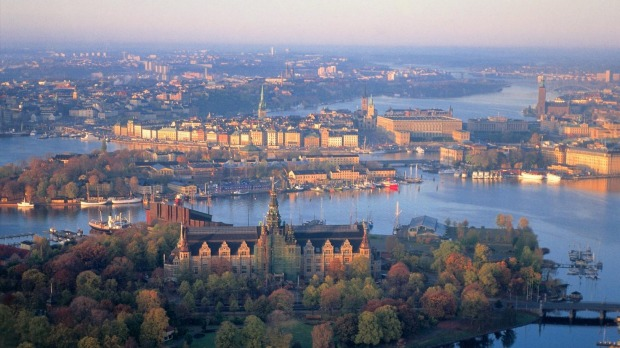 Stockholm: Beautiful harbour vistas at every turn.