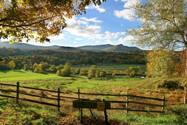 NEW ENGLAND, UNITED STATES. One of the planet's best autumn seasons erupts at its best in early October across the six ...