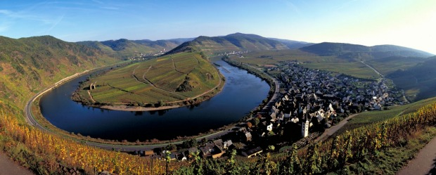 MOSELLE VALLEY, GERMANY. This steep-sided valley dotted with villages and castles is always beautiful, but its famous ...