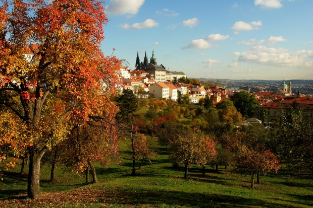 PRAGUE, CZECH REPUBLIC. One of Europe's most visually attractive cities takes on a new palette of beauty in the soft ...