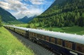 With Azamara Club Cruises, the Venice Simplon Orient Express passing through the Brenner Pass, Austria tra22-shipsnews