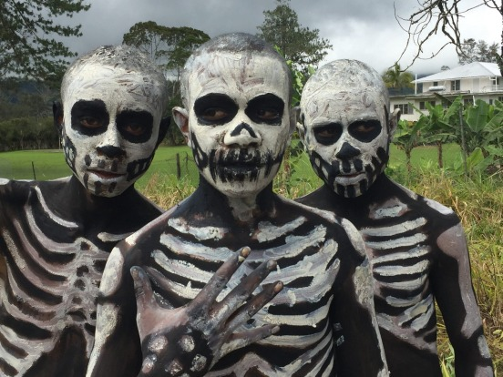 Taken at the Mt Hagen Cultural Show, Papua New Guinea, August 2017, local tribes from all over the Highlands gather and ...