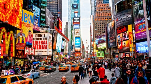 The number of visitors to the US has been declining according to data from the US Travel Association.