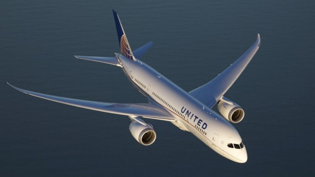 United Airlines\' direct flights from Sydney to Houston take off
