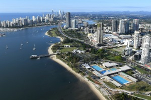 "The Commonwealth Games will provide a ""window"" into the beauty of the Gold Coast in 2018."