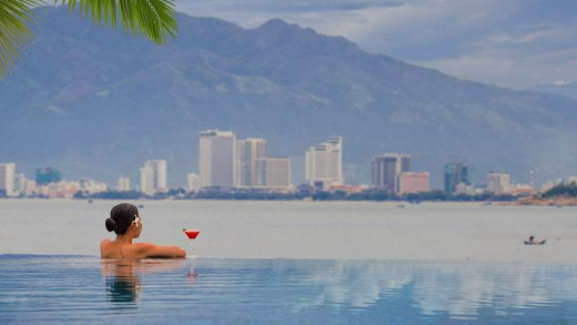 Watch the world go by at Amiana on the Bay, Nha Trang, Vietnam
