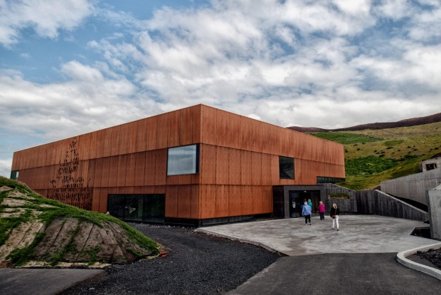 The Eldheimar, a museum of remembrance, focuses on the 1973 eruption of volcano Eldfell on Heimaey, the largest and only ...