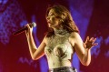 Lorde performs at Coachella.