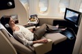 First class on board a Qantas A380. The airline's new credit card is aimed at the well-heeled.
