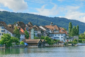 Money hub: Lake Zug in Switzerland.