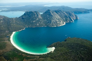 The hike to the beach at Wineglass Bay has recently become easier, with an upgrade to the once-rocky trail down from the ...