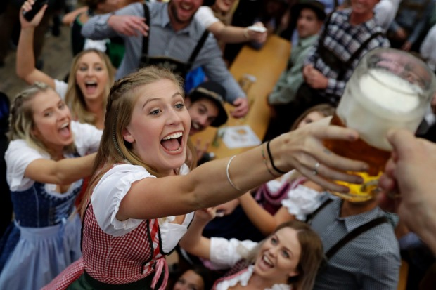 The world's largest beer festival, Oktoberfest, has kicked off running from September 16 until October 3, 2017.