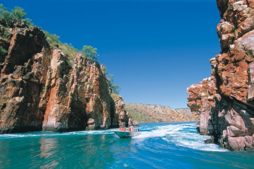 satsep30SS-kimberley Horizontal Waterfalls ; text by Andrew Bain Photo credit:?Tourism Western Australia ...