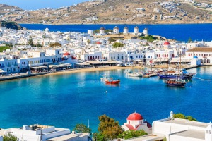 Mykonos: Where the beautiful people play.