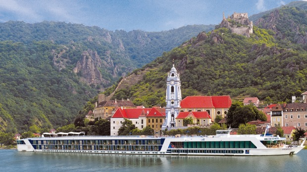 The Amabella: The entire cross-continental journey offers 68 locks and 600 bridges.