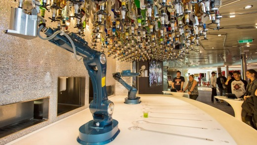 Any drink you like: Bionic bartending on the Royal Caribbean's Anthem of the Seas.