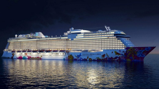 Genting Dream, one of a new wave of ships in Asia.