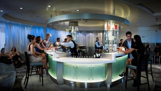 The Martini Bar on Celebrity Solstice.