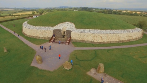 Newgrange: It's estimated this tomb took up to 50 years to build.