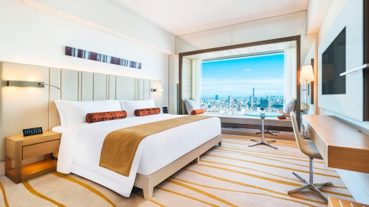 The Prince Gallery Tokyo Kioicho rooms offer spectacular views over the city.