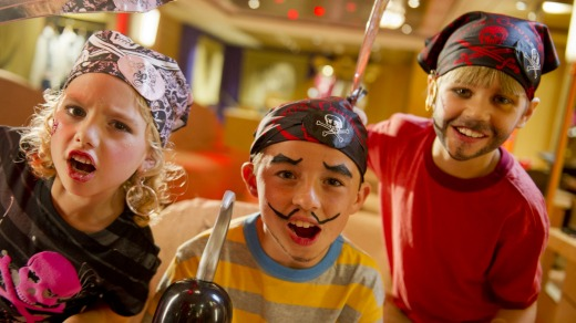 Disney cruises are ideal for kids.
