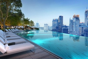 The Park Hyatt Bangkok meets the challenge in a city of great pools.