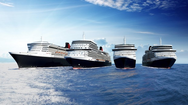 Cunard's new 3000-passenger ship, the largest in it's fleet, will set sail in 2022; the line's newest ship since it ...