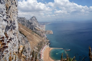 Up on The Rock of Gibraltar.
