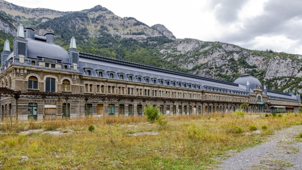 Canfranc Abandoned Train Station Spain Ghost Station Set