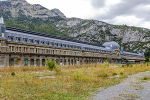 Canfranc station was once the second biggest train station in Europe.