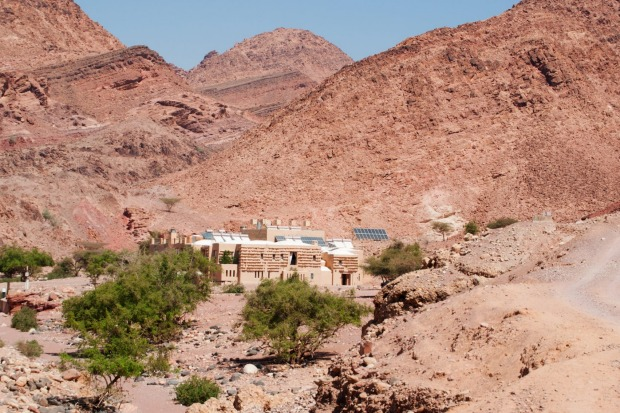 Feynan Eco Lodge, a solar-powered retreat in the Dana Biosphere Reserve, part of The Royal Society for the Conservation ...