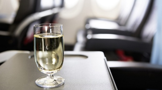 Have you ever enjoyed a glass of wine on a plane?