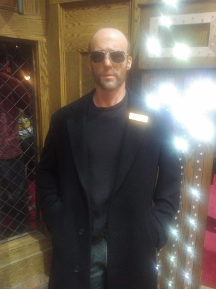 Jason Statham: More dimensions in wax.