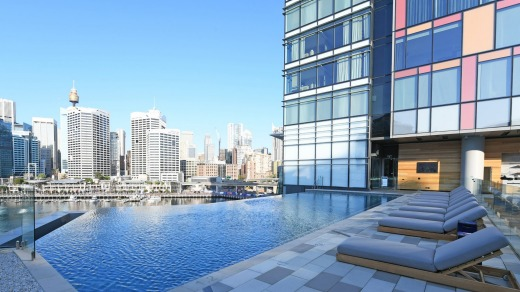 The new Sofitel Sydney Darling Harbour has a prime waterfront location opposite the new International Convention Centre.
