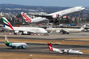 More than 9 million passengers flew on the Sydney-Melbourne route in 2017.
