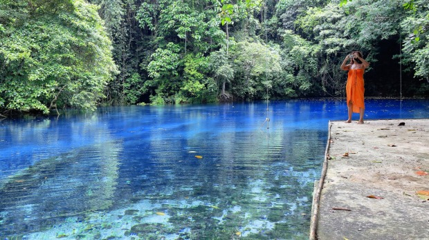 Nothing can prepare you for the beauty of Vanuatu's Blue Holes.
