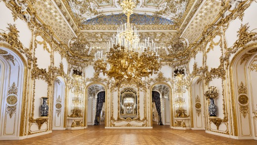 In the 1800s, the palace was remodelled in rococo revival style, creating Vienna's earliest and most important interior ...