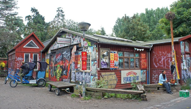 THE PLACE: Christiania, Denmark. Say you picked up Nimbin, Australia's infamous hippie enclave, in its entirety and ...