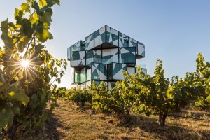 McLaren Vale's answer to the Eiffel Tower: The Cube at d'Arenberg Wines.