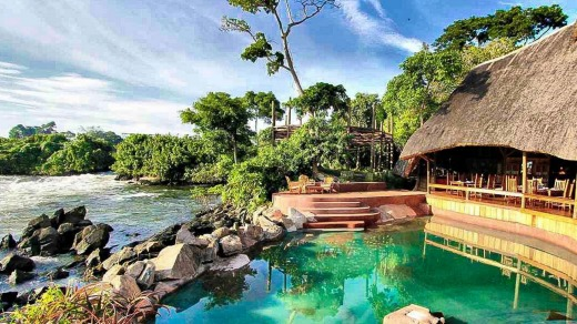 Wildwaters Lodge, Uganda.