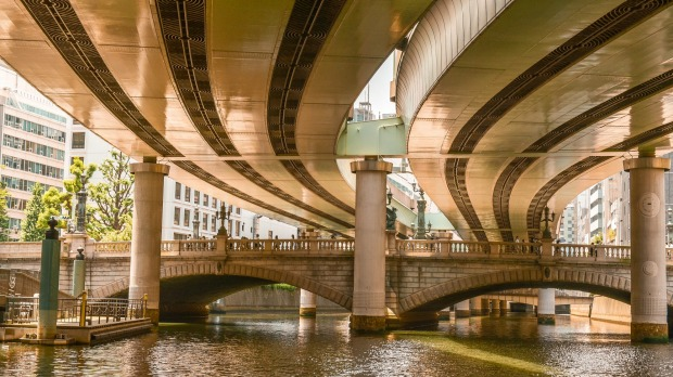 Nihonbashi is a business district of Tokyo, which grew up around the bridge of the same name which has linked two sides ...