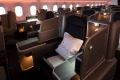 Business class on Qantas' Boeing Dreamliner, which now flies direct from Perth to London.