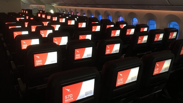A Qantas review of its in-flight entertainment offerings found fewer than 10 per cent of passengers used the music or ...
