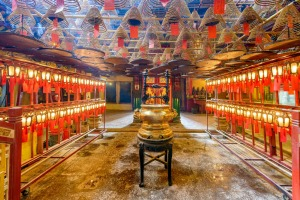 Don't miss one of Hong Kong's oldest temples, Man Mo.