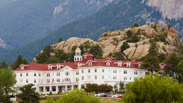 F1NA26 Estes Park, Colorado - The Stanley Hotel.