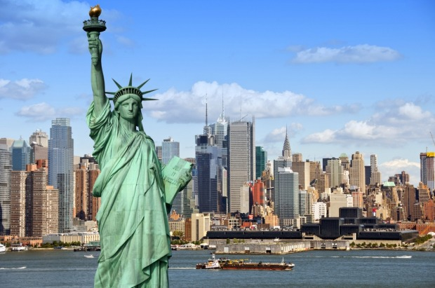 Statue of Liberty, New York, USA: Perhaps the world's most famous statue is surprisingly small, on a global scale, ...
