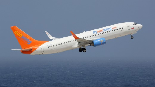Canadian budget airline Sunwing.