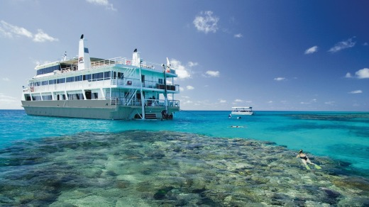 The aptly-named Coral Expeditions II.